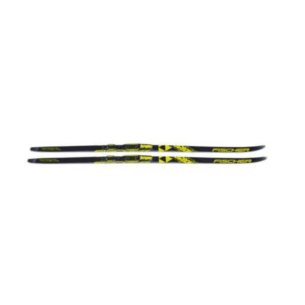 Беговые лыжи fischer twin skin carbon JR IFP