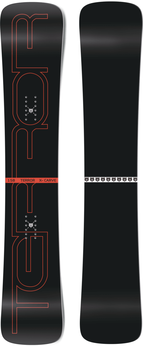 Сноуборд Terror X-curve 162