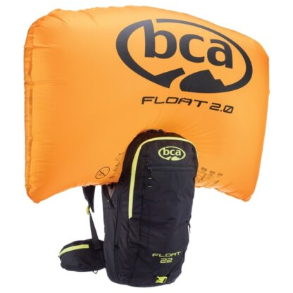 Рюкзак лавинный BCA FLOAT 22 2.0, чёрный, жёлтый