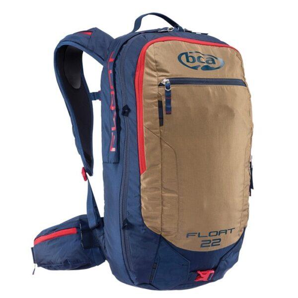 Рюкзак лавинный BCA FLOAT 22 2.0, синий, коричневый, красный
