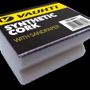 Пробка с наждачной бумагой Vauhti